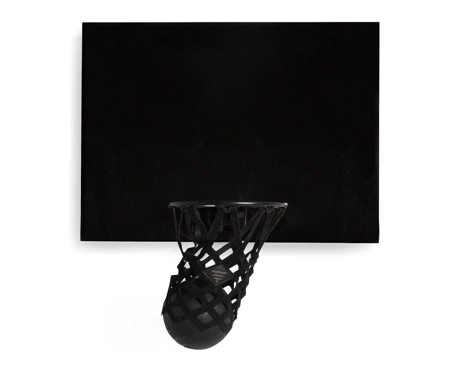 INDOOR MINI BASKETBALL KIT | KILLSPENCER® - Black Metal and Gloss Black