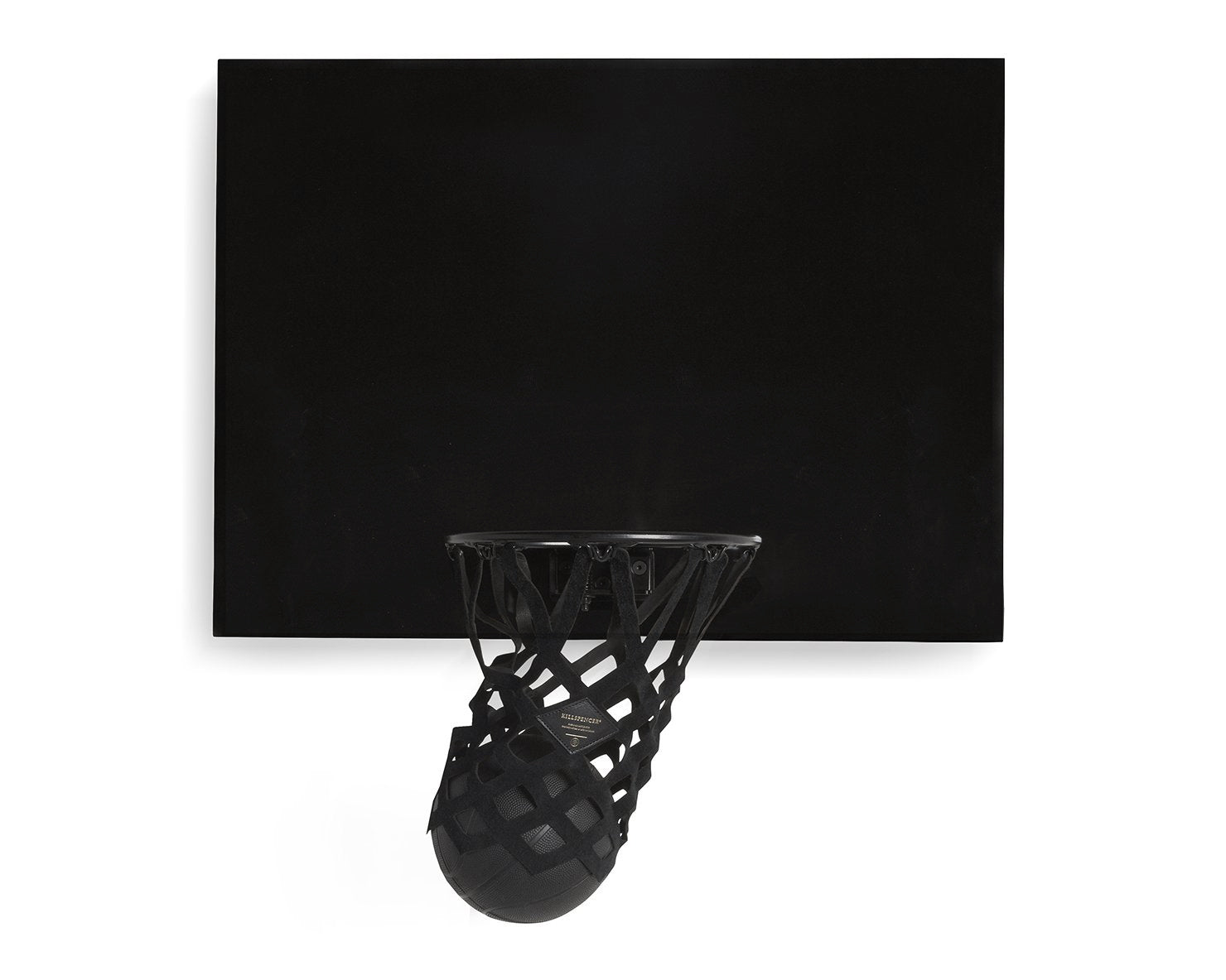 INDOOR MINI BASKETBALL KIT 2.0 | KILLSPENCER® - Black Metal and Matte Black