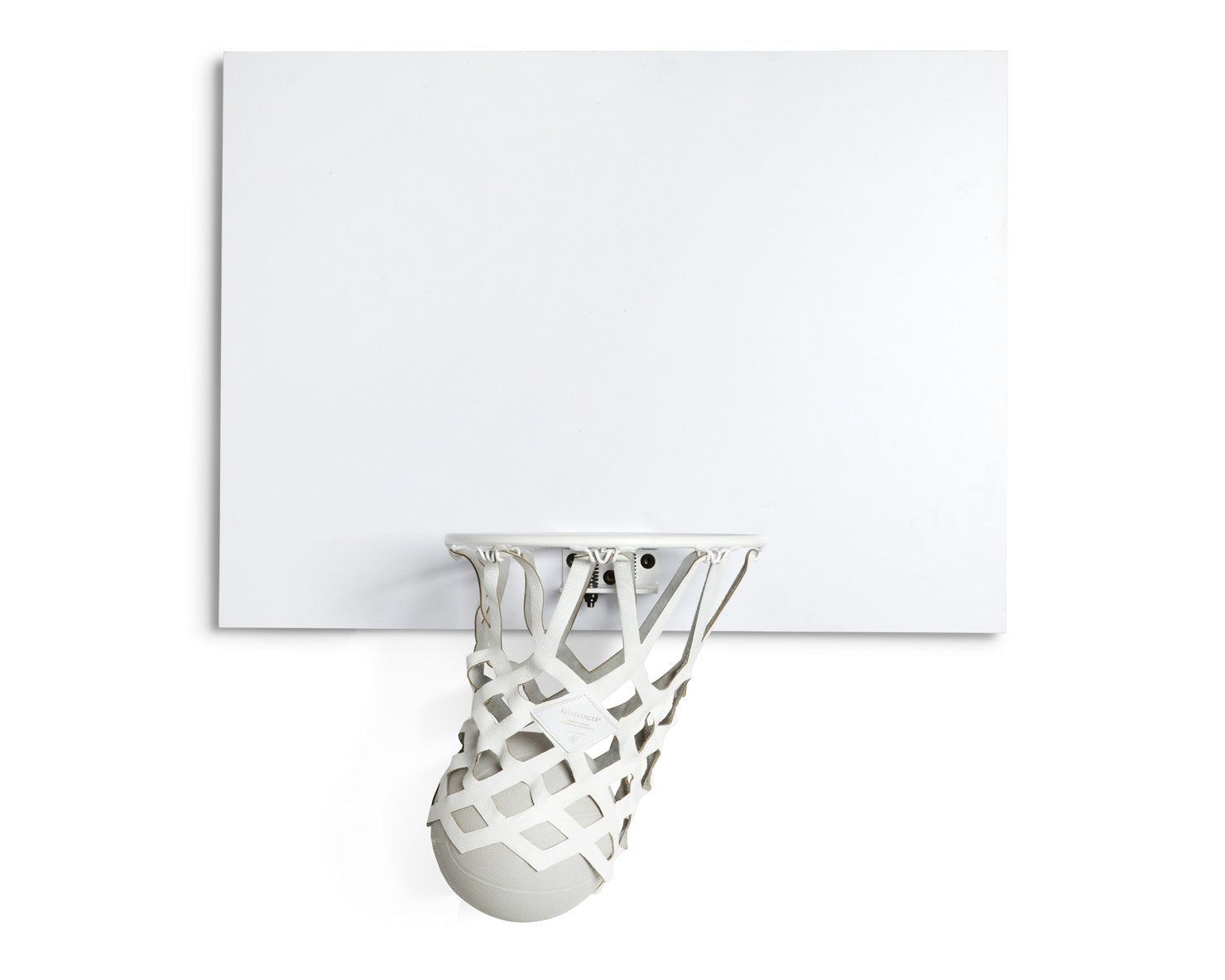 INDOOR MINI BASKETBALL KIT 2.0 | KILLSPENCER® - White Metal and Matte White