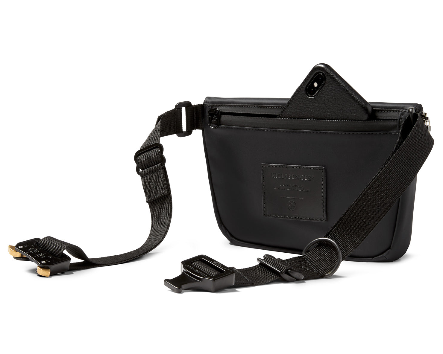 BELT BAG 2.0 | KILLSPENCER® - Black Nylon