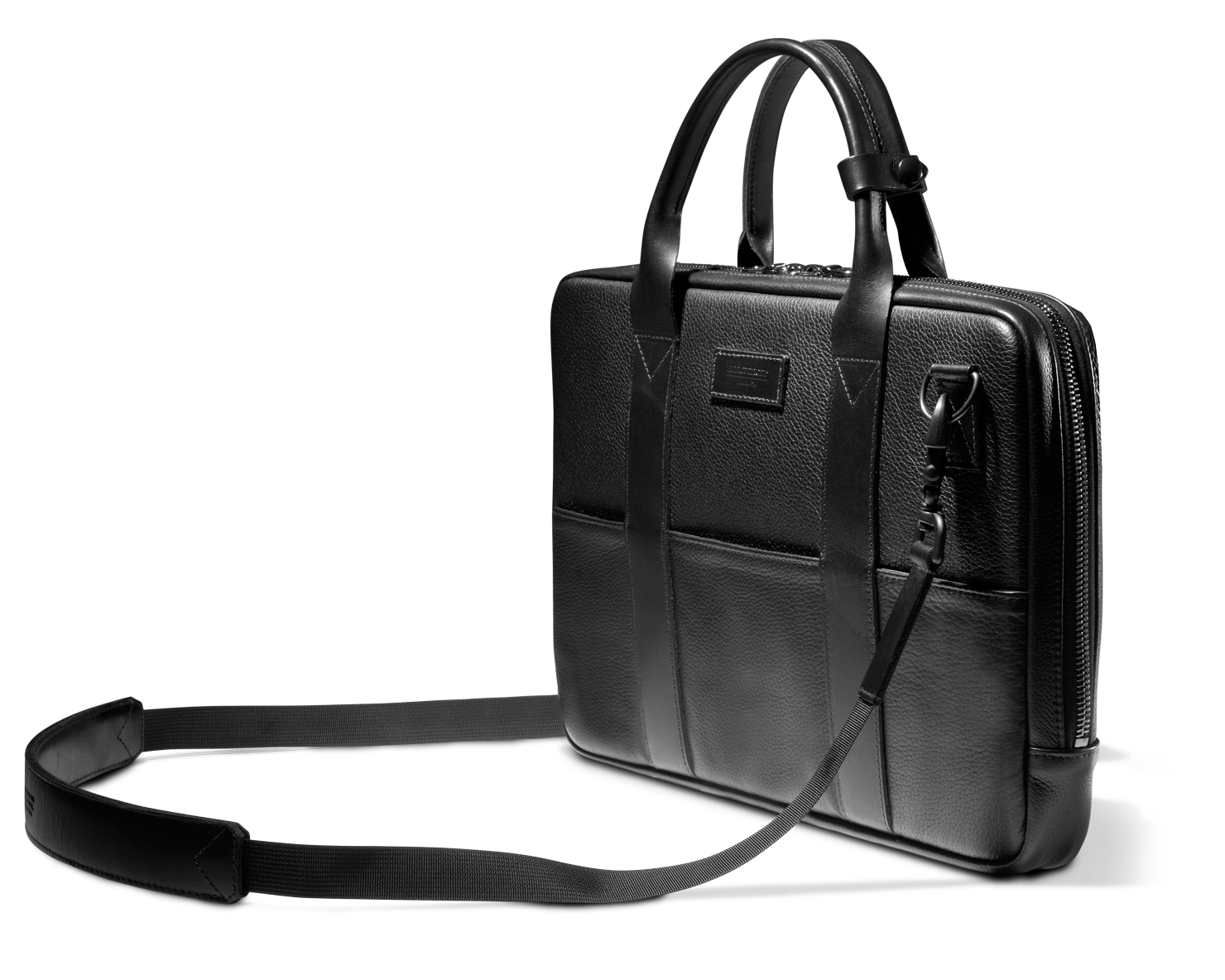 ATTACHÉ BRIEFCASE | KILLSPENCER® - Black Leather