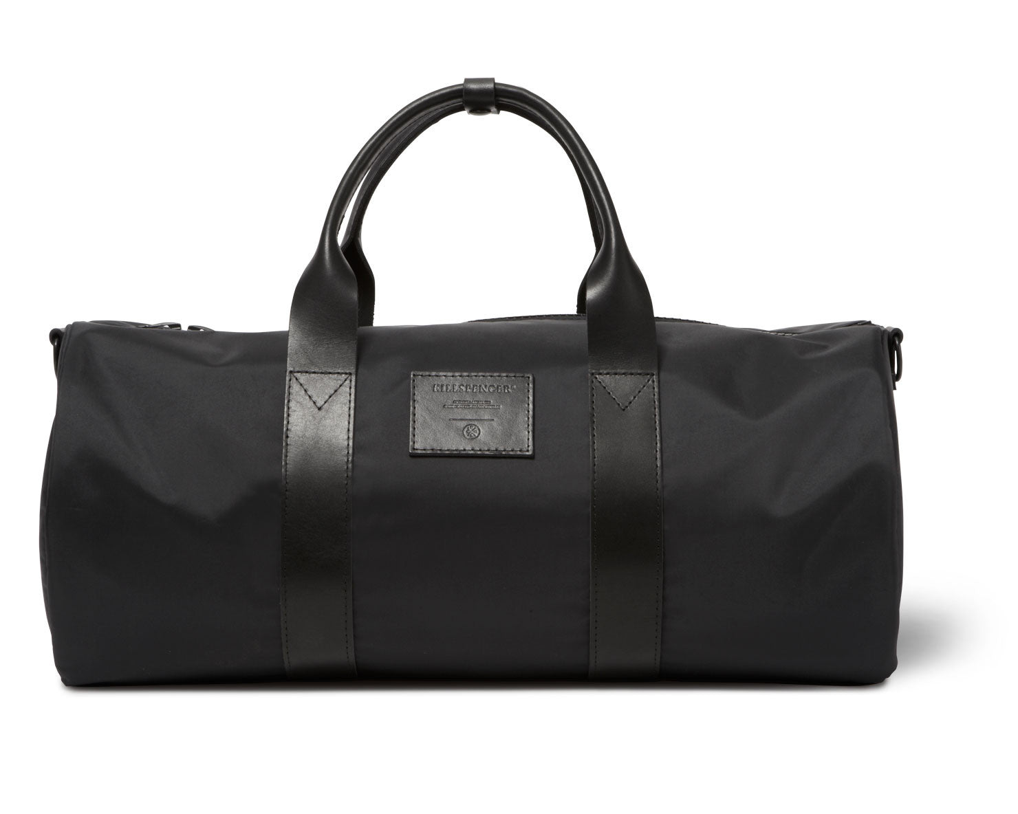 OVERNIGHT DUFFLE | KILLSPENCER® - Black Nylon