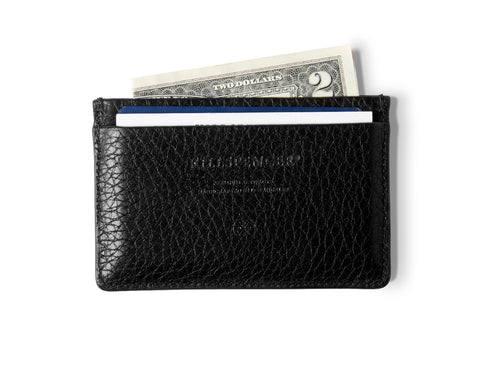 CARD HOLDER 2.0 | KILLSPENCER® - Black Leather