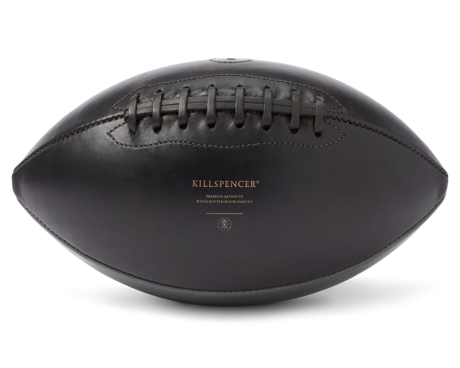 FOOTBALL | KILLSPENCER® - Charcoal Grey Leather
