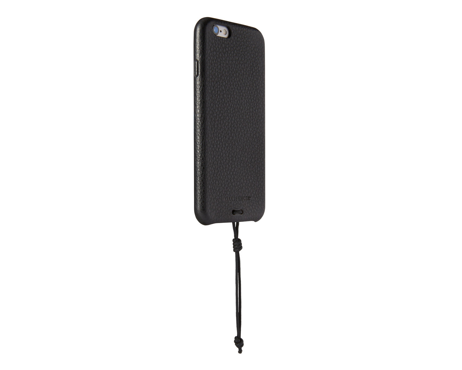 SNAP CASE FOR IPHONE 6/6S | KILLSPENCER® - Black Leather