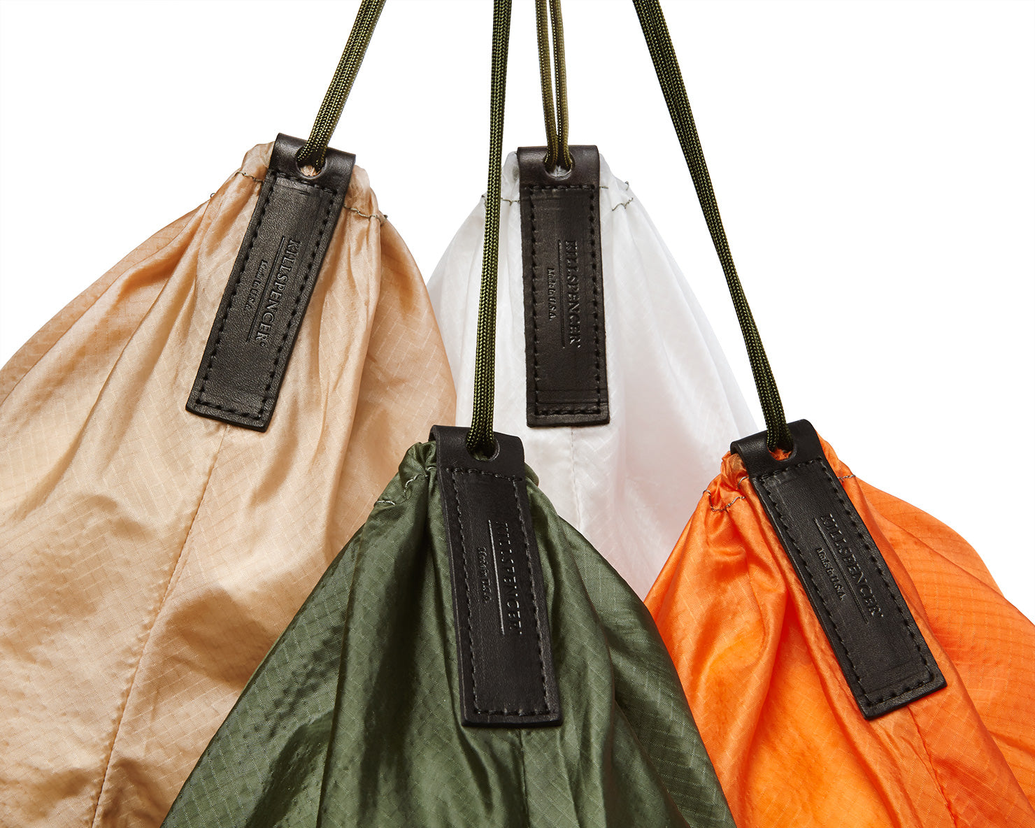 PARACHUTE BAG 2.0 - Laundry Bag | KILLSPENCER® - Orange Parachute