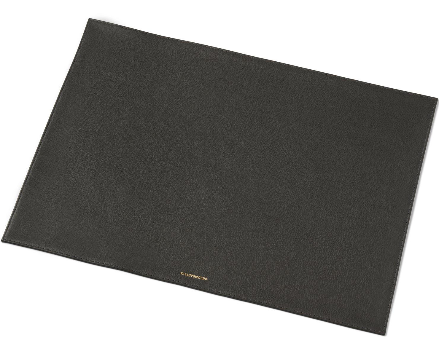 DESK MAT | KILLSPENCER® - Charcoal Grey Leather