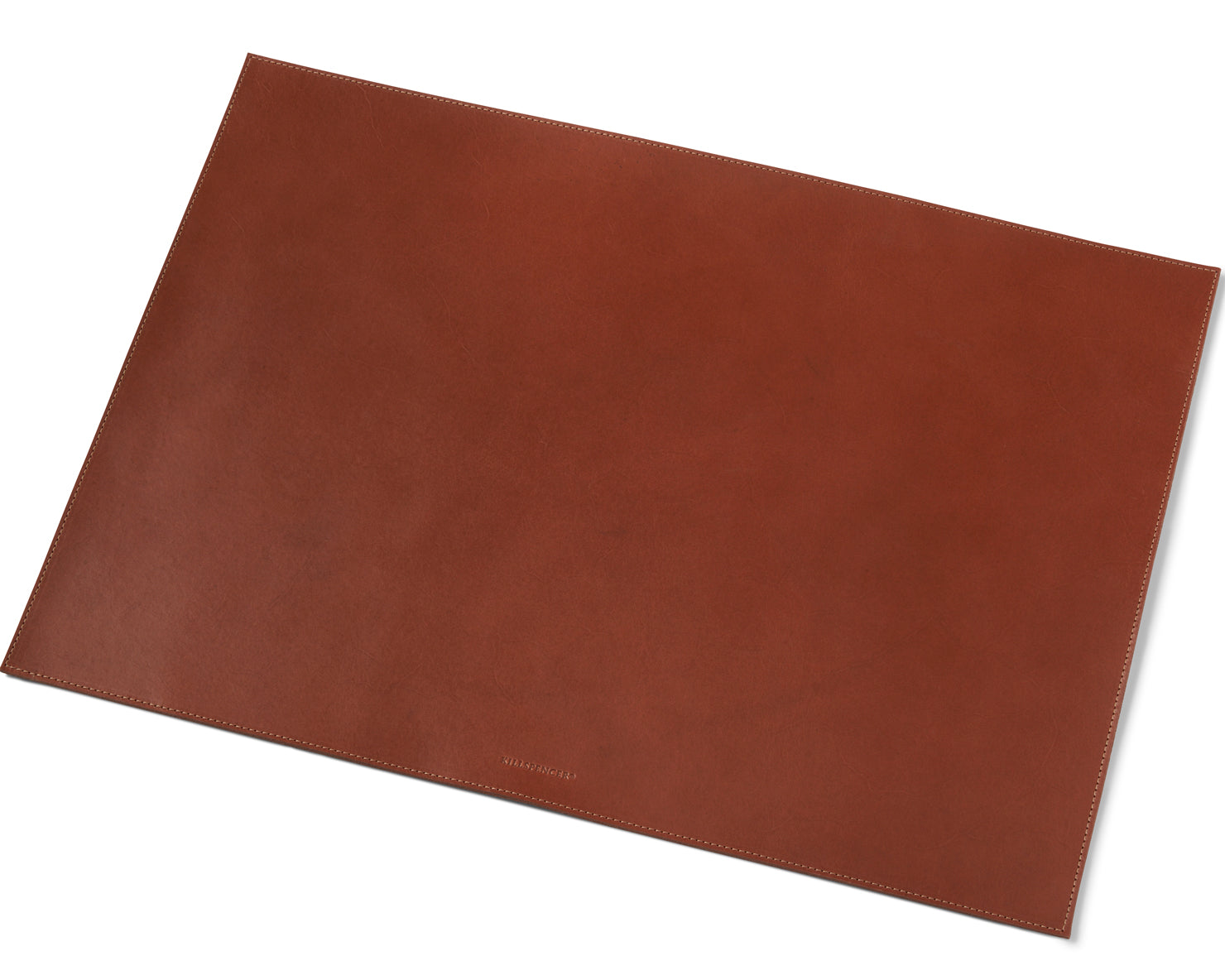 DESK MAT | KILLSPENCER® - Cognac Bullhide Leather