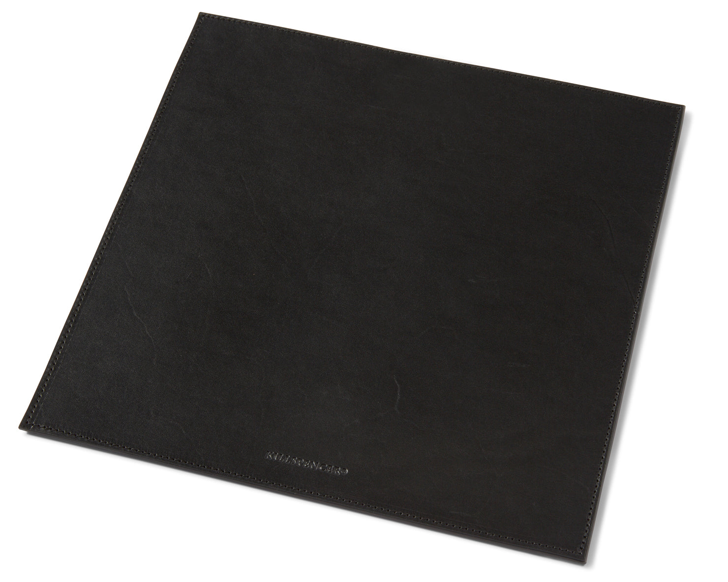 MOUSEPAD | KILLSPENCER® - Black Bullhide Leather