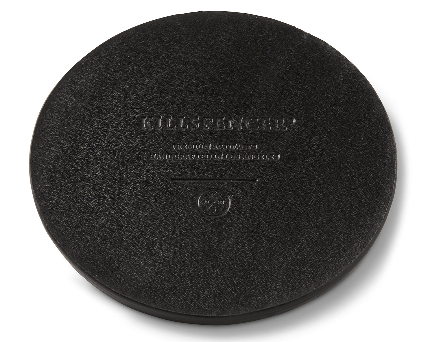 COASTER SET | KILLSPENCER® - Black Bullhide Leather
