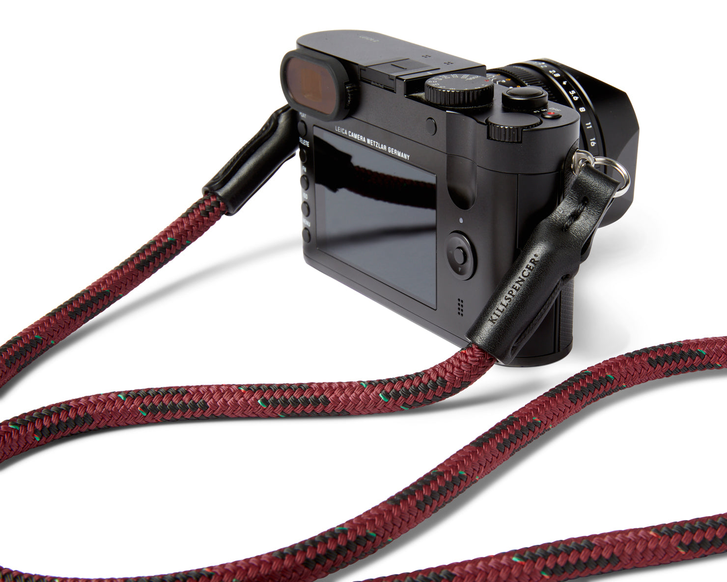 CAMERA STRAP | KILLSPENCER® - Burgundy Ultra-Tech Cord