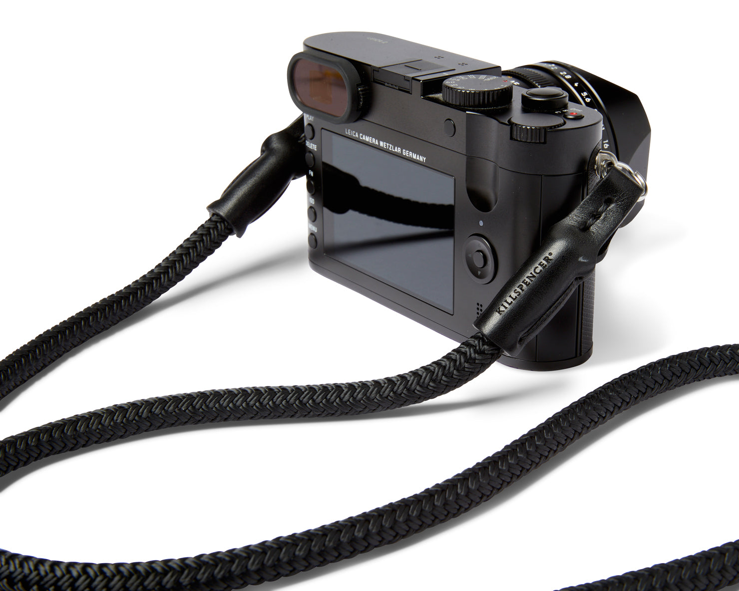 CAMERA STRAP | KILLSPENCER® - Black Paracord