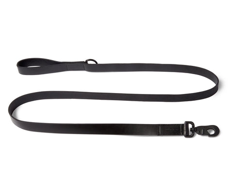 DOG LEASH | KILLSPENCER® - Black Bullhide Leather