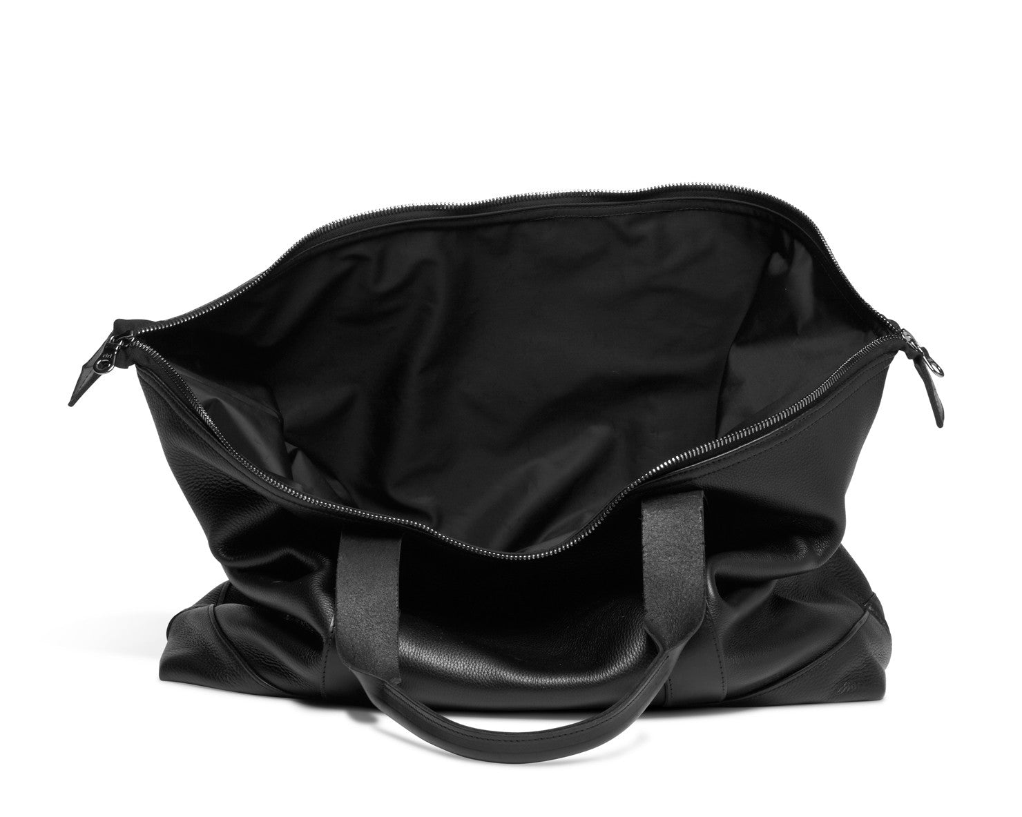 TRAVEL TOTE | KILLSPENCER® - Black Leather