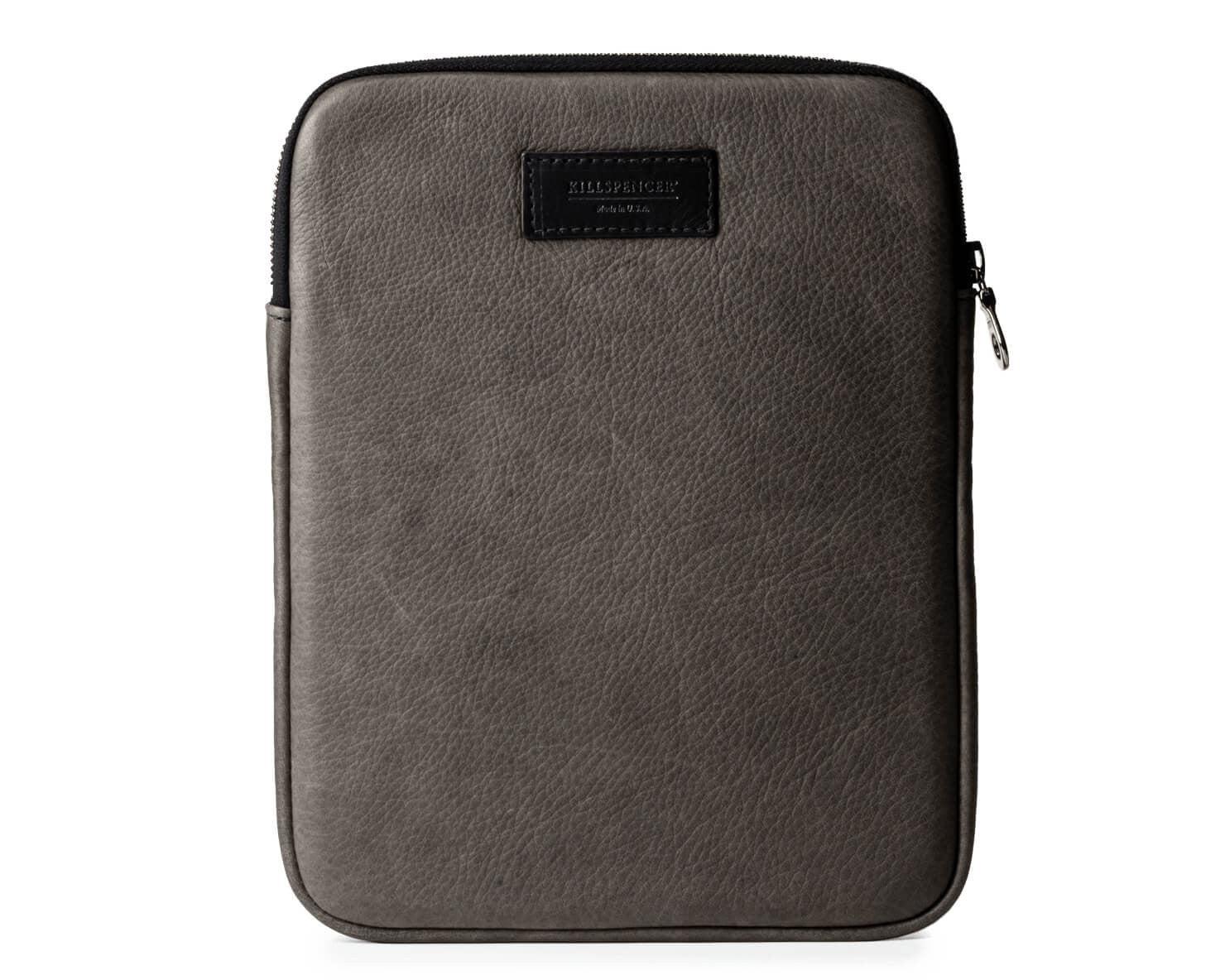 IPAD CASE 2.0 | KILLSPENCER® - Charcoal Grey Leather