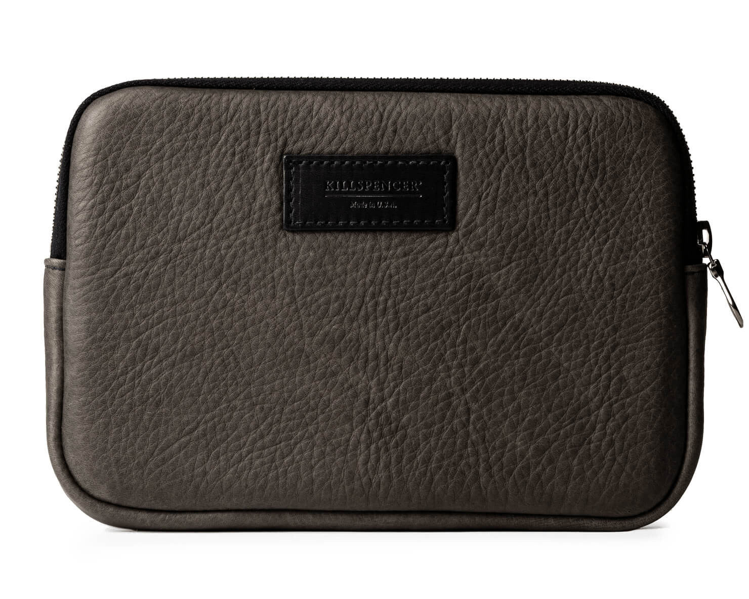 IPAD MINI CASE | KILLSPENCER® - Charcoal Grey Leather