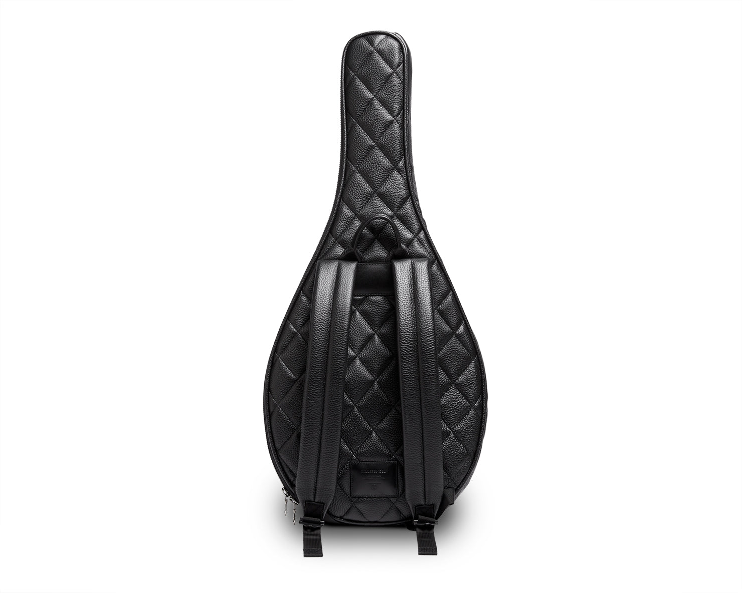 TENNIS RACKET BACKPACK | KILLSPENCER® - Black Quilted Leather