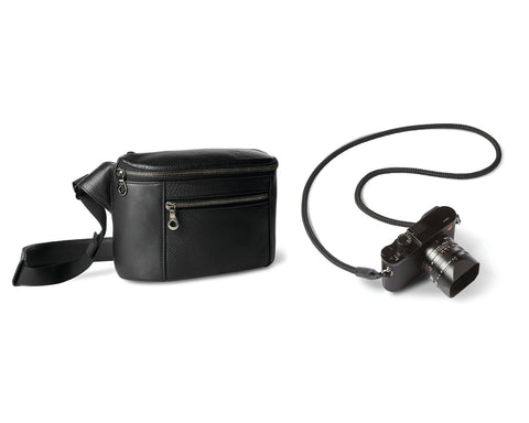 CAMERA SET | KILLSPENCER® - Black Leather