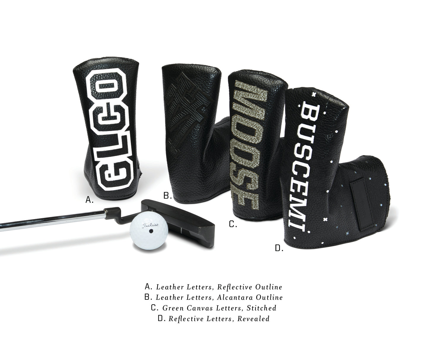 PUTTER COVER | KILLSPENCER® - Black Leather