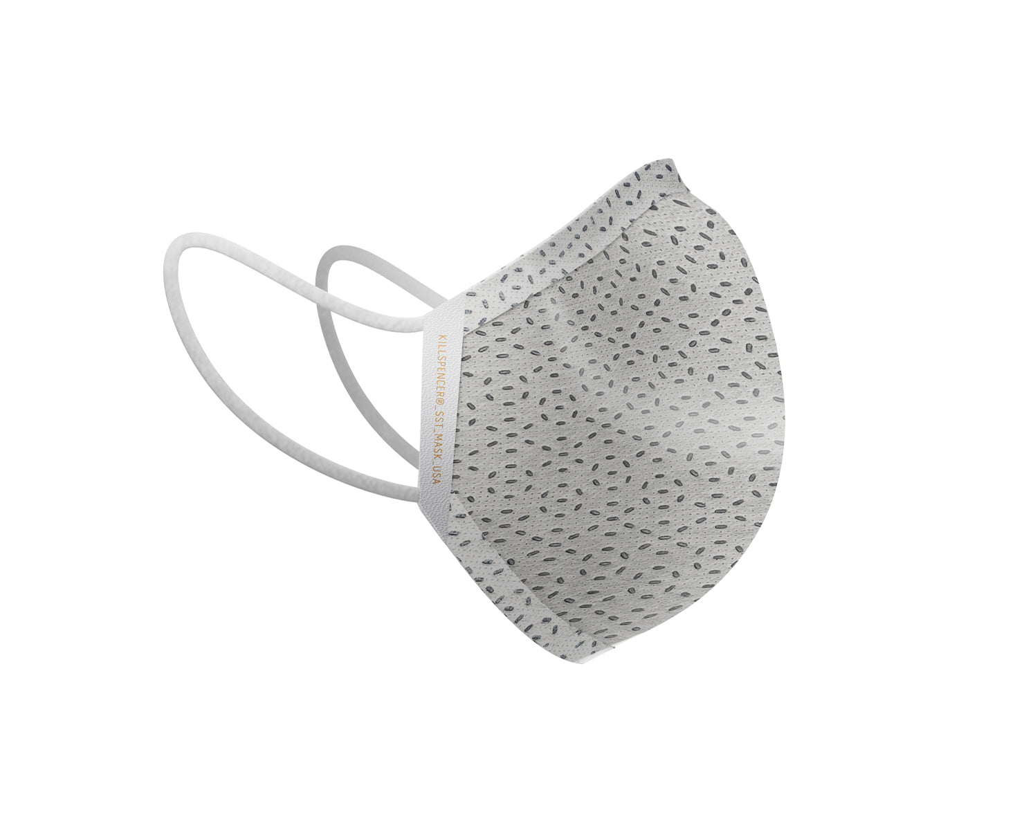 SST FACE MASK | KILLSPENCER® - Apollo Grey SST and White Leather