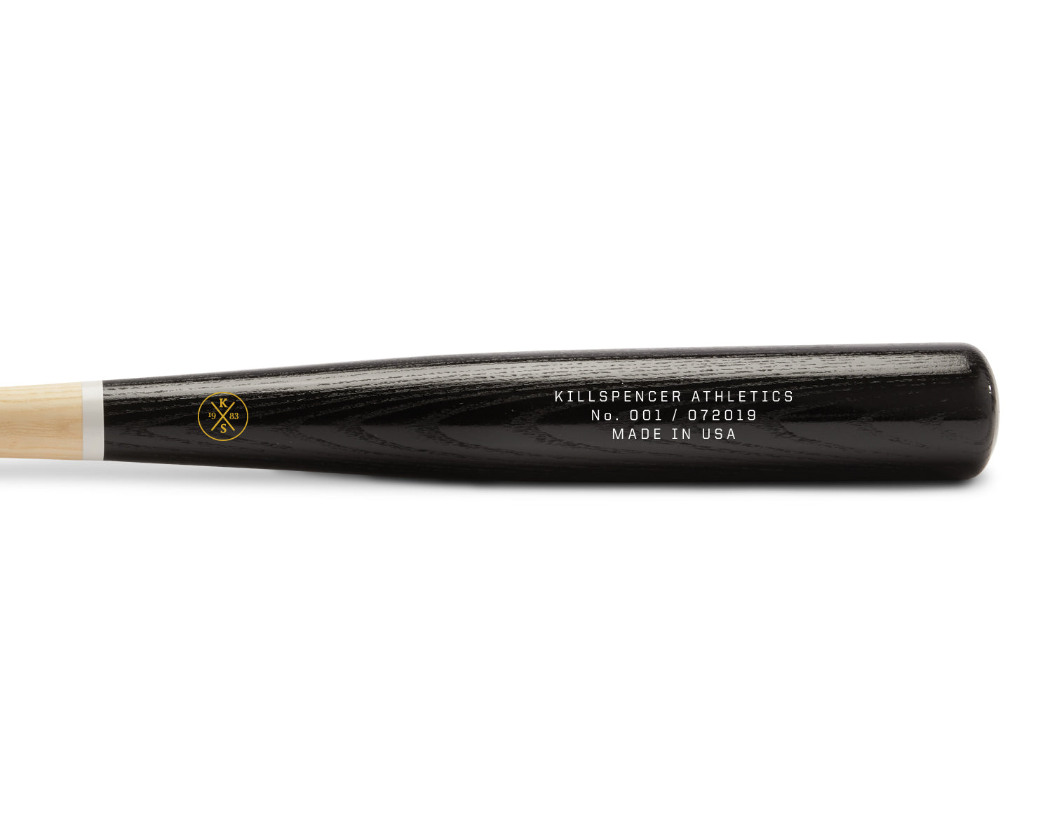 BASEBALL BAT 2.0 | KILLSPENCER® - Black Ash Hardwood