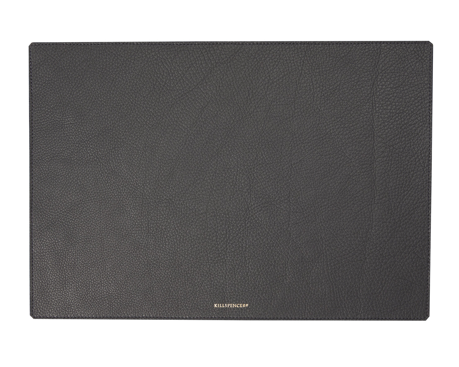 VALET TRAY MAT | KILLSPENCER® - Charcoal Grey Leather Large