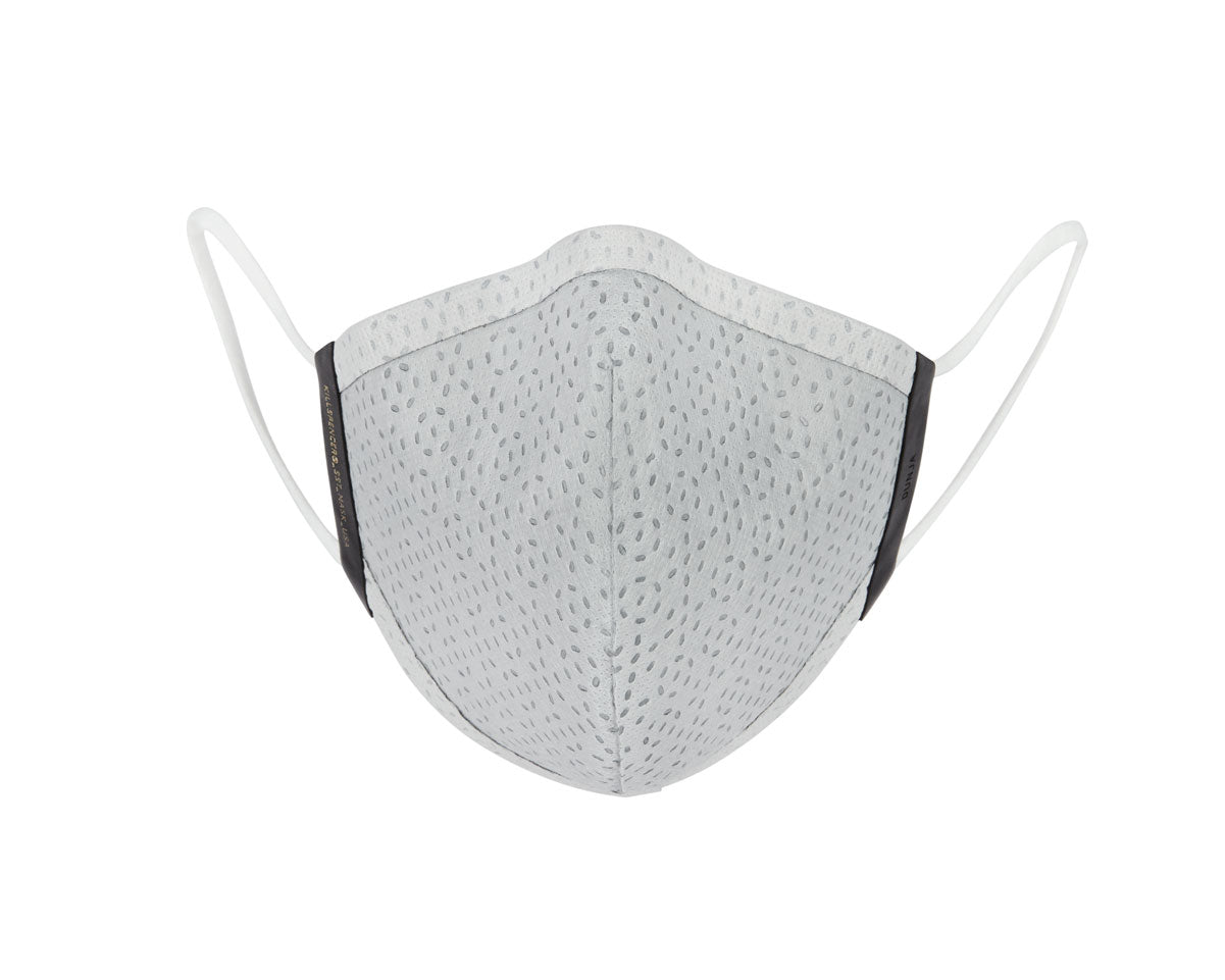 SST FACE MASK | KILLSPENCER® - Apollo Grey SST and Black Leather