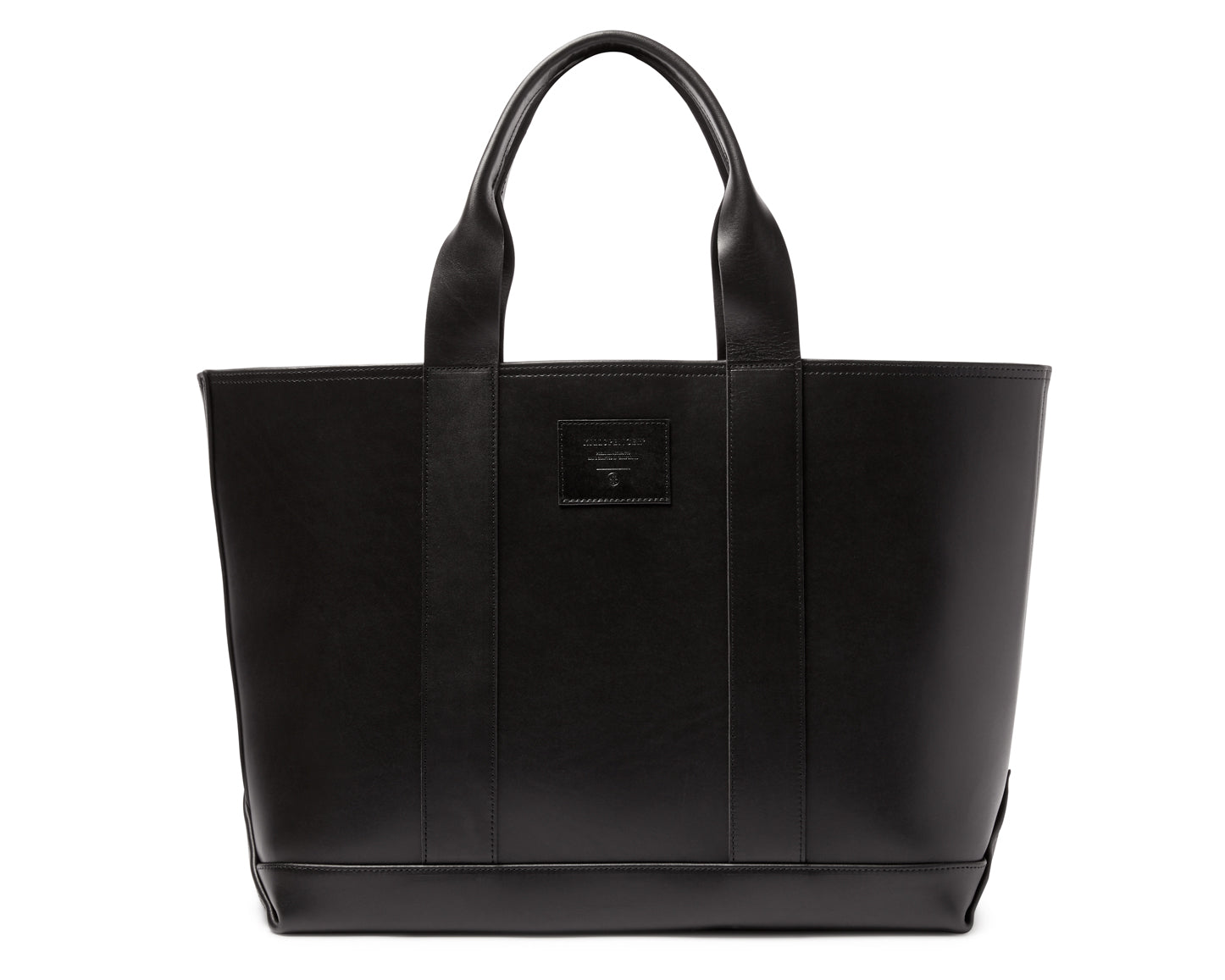 MEGA TOTE | KILLSPENCER® - Black Bullhide  Leather