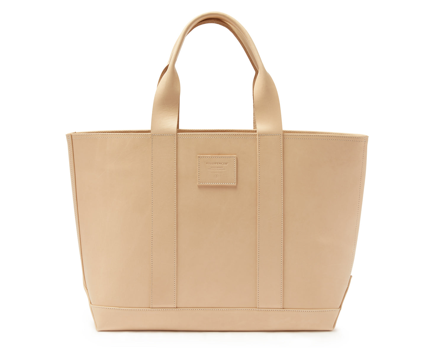 MEGA TOTE | KILLSPENCER® - Natural Bullhide Leather