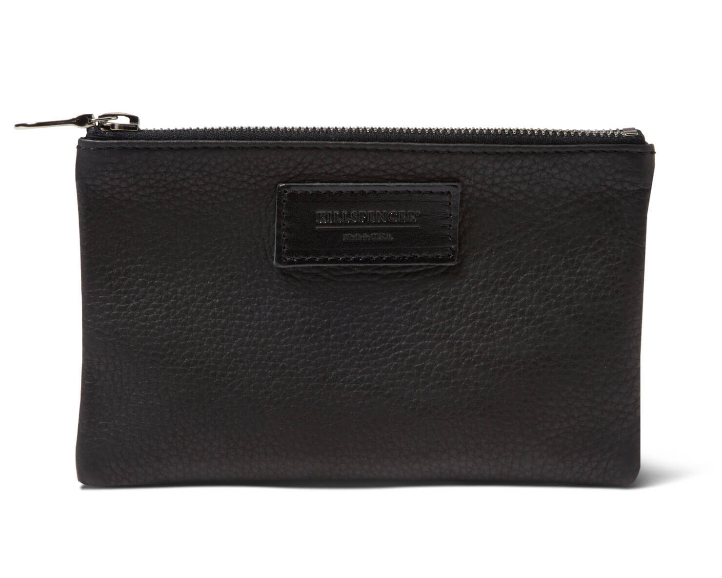 MINI ZIPPERED POUCH | KILLSPENCER® - Black Leather