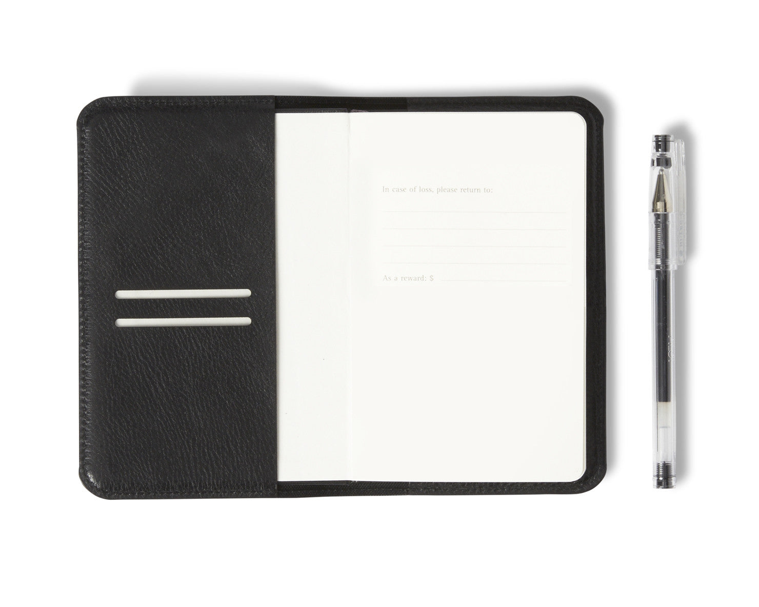MOLESKINE® SLEEVE | KILLSPENCER® - Black Leather