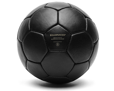 SOCCER BALL | KILLSPENCER® - Black Leather