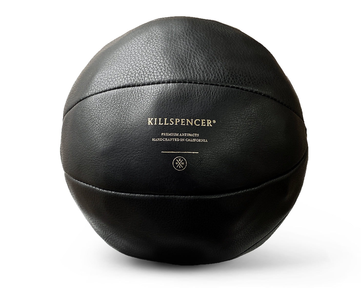 INDOOR MINI BASKETBALL | KILLSPENCER® - Plush Black Leather