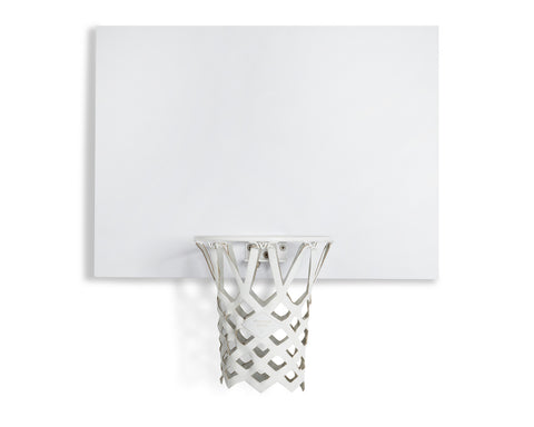 KILLSPENCER X SNARKITECTURE INDOOR MINI BASKETBALL KIT | KILLSPENCER® - White Metal + Melamine