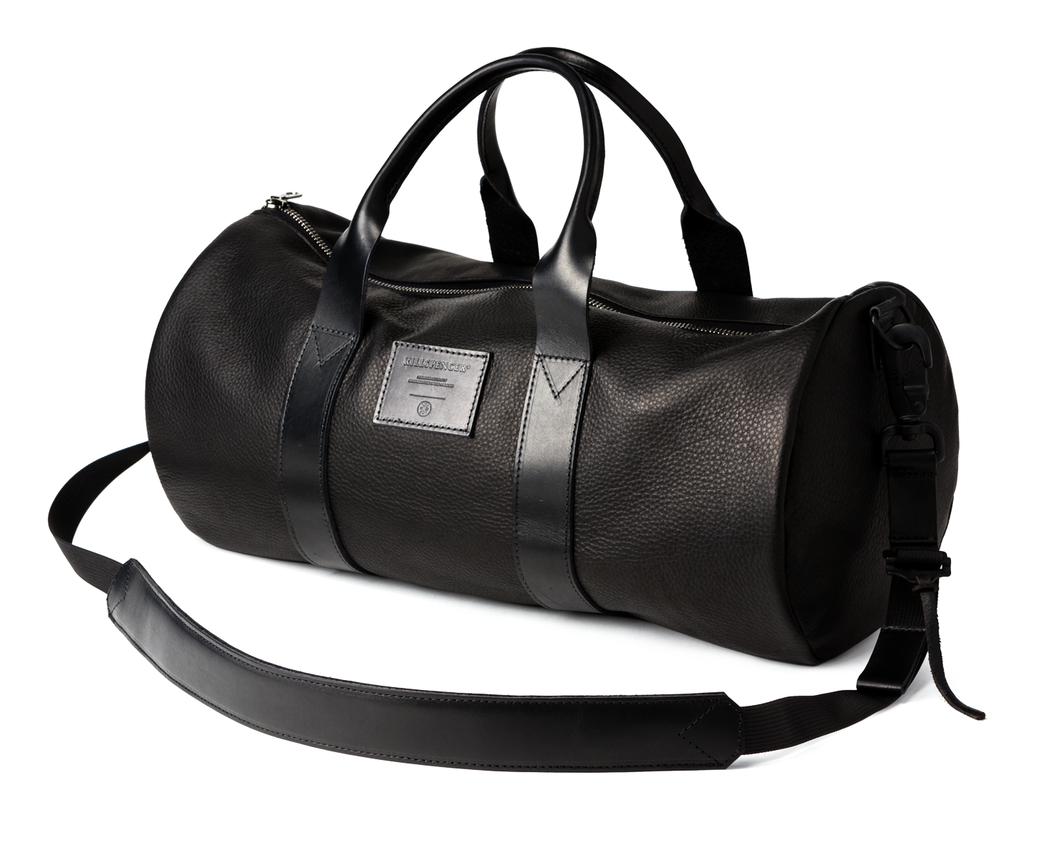 OVERNIGHT DUFFLE | KILLSPENCER® - Black Leather