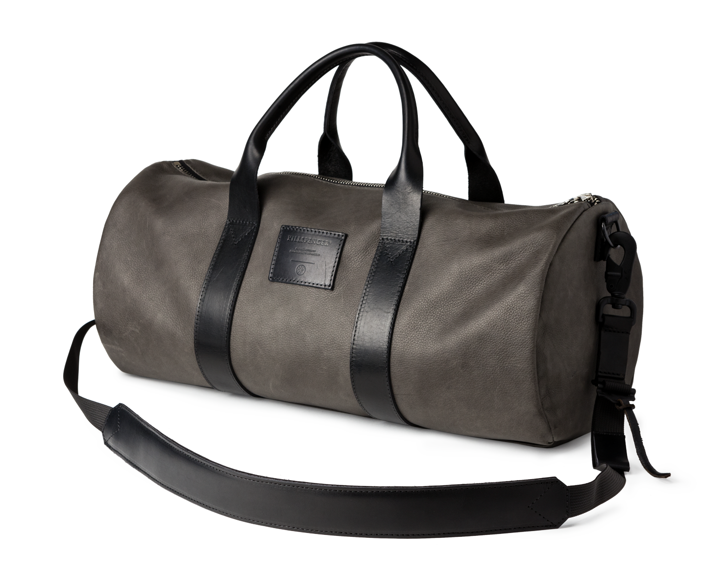 OVERNIGHT DUFFLE | KILLSPENCER® - Charcoal Grey Leather