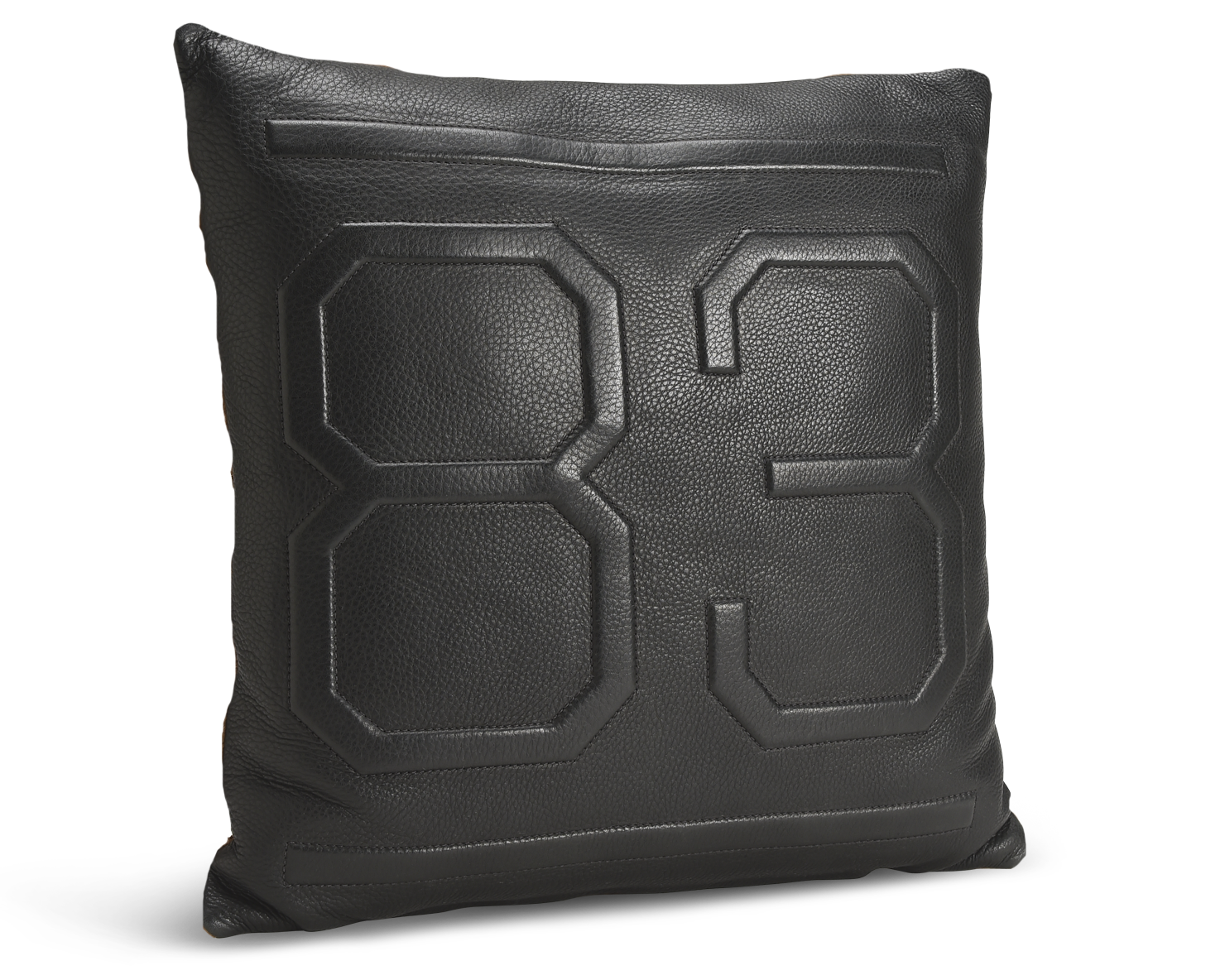 THROW PILLOW | KILLSPENCER® - Black Leather