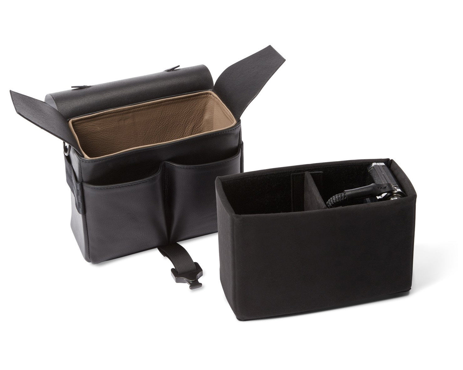 PRECISION POCKET™ CAMERA BUCKET | KILLSPENCER® - Midnight Black Alcantara