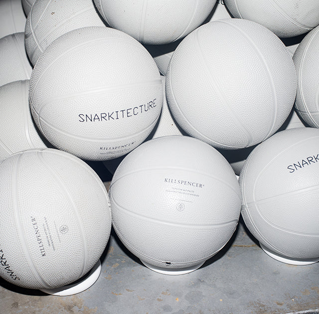 KILLSPENCER® | KILLSPENCER x SNARKITECTURE Collector's Edition Indoor Mini Basketball Kit