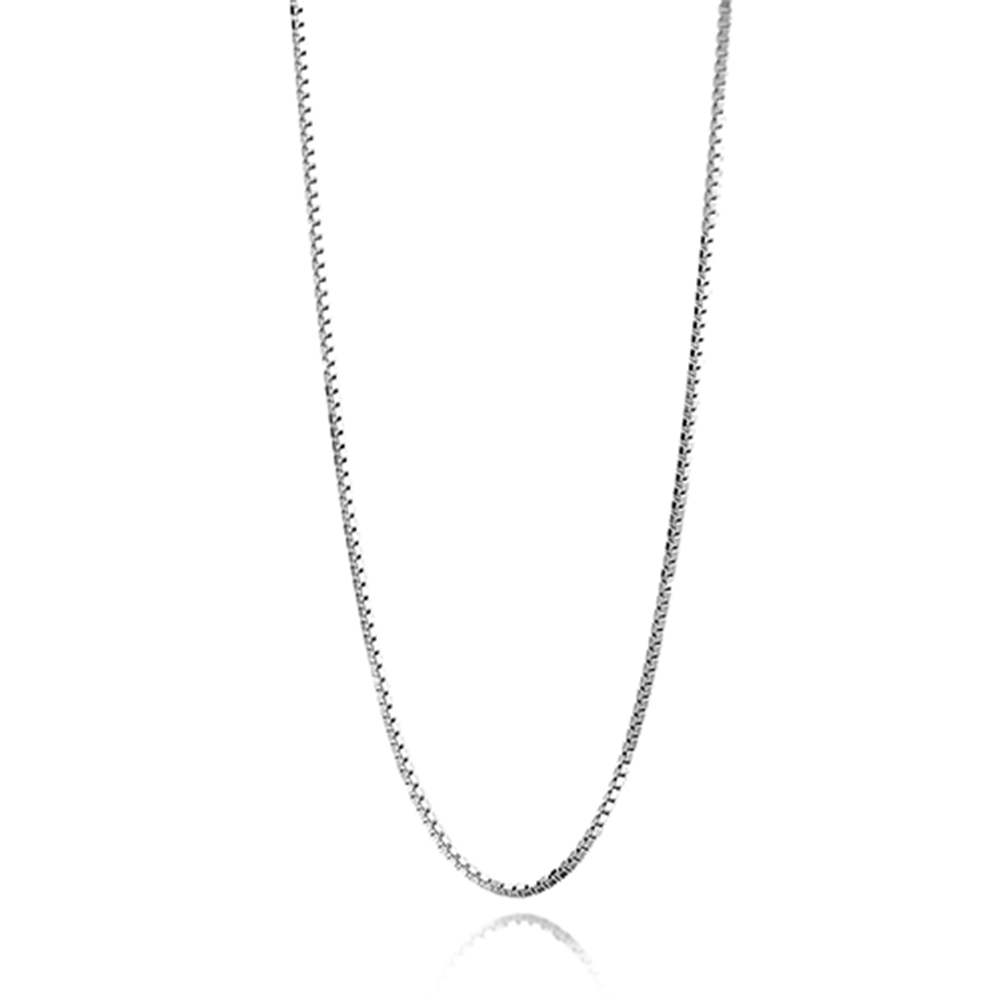 925 Sterling Silver 22 Inches Box Chain