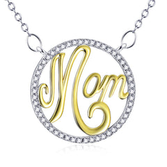 3 - For ever Mom - 925 Sterling Silver Necklace