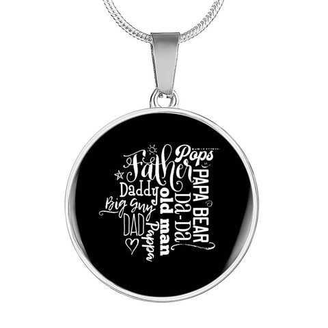 Father Pops Necklace