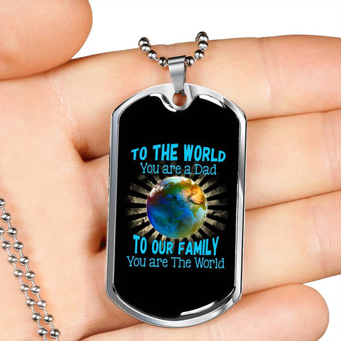 To The World - Military Chain
