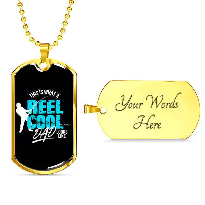 Reel Cool Dad - Military Chain
