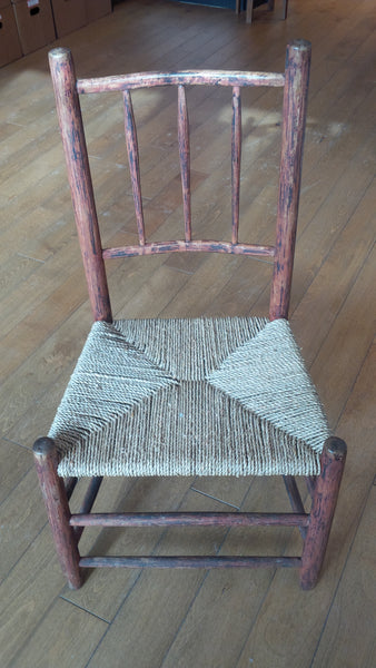 Antique Chair with Sea Grass seat