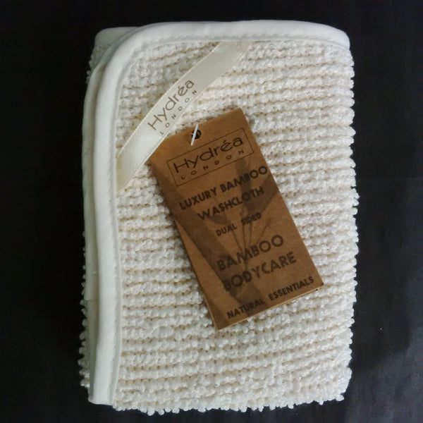 Bamboo Dual sided Washcloth 600gsm