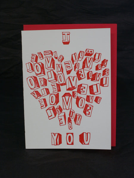 Greeting Cards on Bamboo - Love and Valentine - Westport BamBooo Company - 3