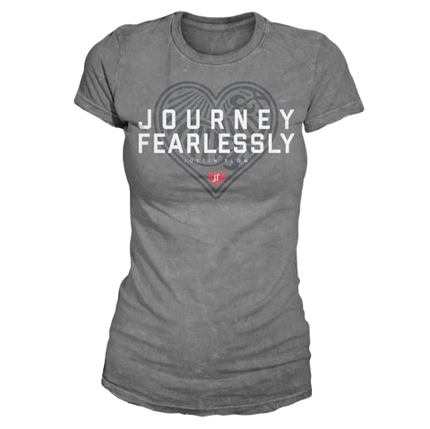 Journey Fearlessly Ladies Tee