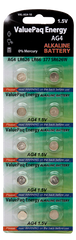 ValuePaq Energy AG4 LR626 LR66 377 SR626W