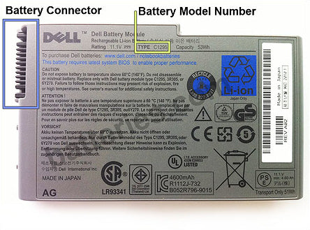Laptop computer and laptop battery buyers guide batteries its always a good idea to look closely at the images of the battery you are about to purchase if the battery connector doesnt look like the same fandeluxe Choice Image